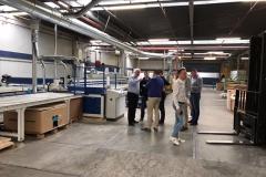 In de fabriek