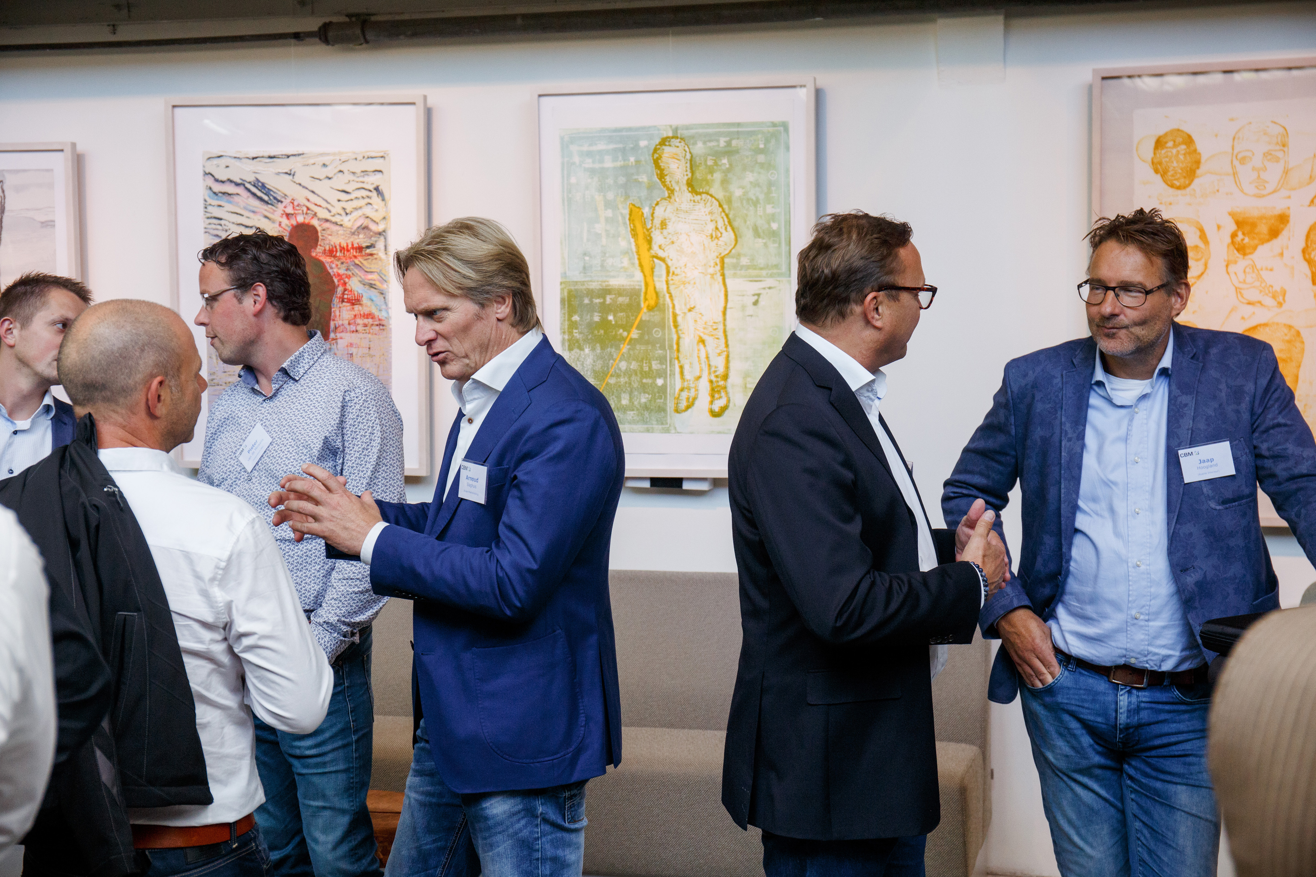 DE BEELDREDAKTIE / HERBERT WIGGERMAN TBV CBM MEETING IN DE GELDERLANDERFABRIEK CULEMBORG, 12 SEPTEMBER 2017