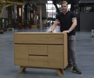 Marnick Ruël en zijn prijswinnende ontwerp
